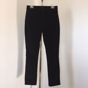 NYDJ Lift Tuck Velvet Leggings Size 6.